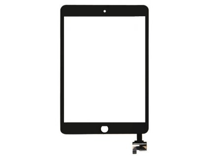 iPad Mini 3 Dotykové sklo čierne