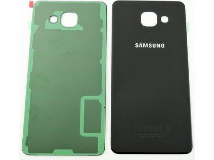 zadný kryt (kryt baterie) pre Samsung Galaxy A5 2016 čierny