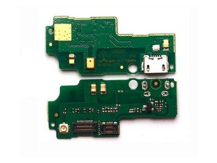 flex Doska nabíjania Huawei G750 Honor 3X - nabíjací konektor, mikrofón