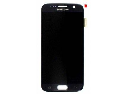 LCD displej Samsung G930 Galaxy S7 dotykové sklo čierne