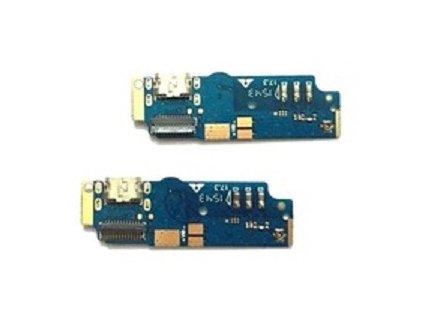 Doska nabíjania Asus ZC550KL Zenfone MAX  - nabíjací konektor, mikrofón
