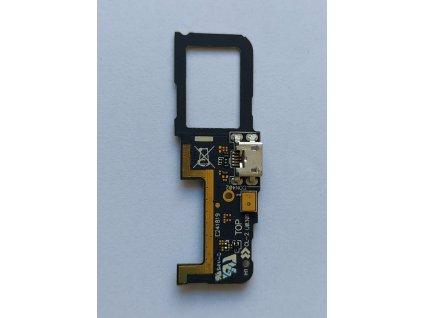 Doska nabíjania Asus ZC451CG ZenFone C - nabíjací konektor, mikrofón