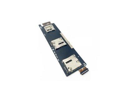 Flex kábel SIM karty a SD karty Asus Zenfone 6