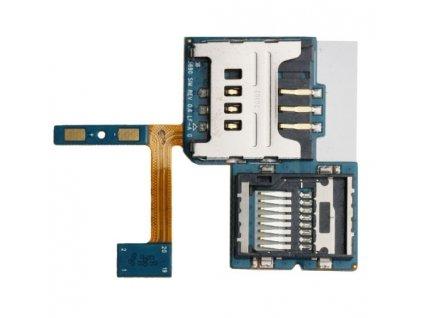 Flex kábel SIM karty a pamäťovej karty SD Samsung S5690 Galaxy Xcover