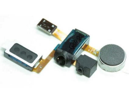 Flex kábel audio jack konektor Samsung I9100 Galaxy S2 - slúchatko, vibračné motorček