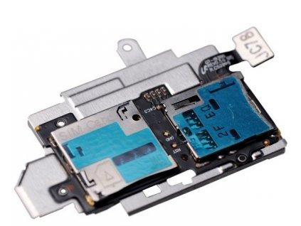 Flex kábel SIM karty a pamäťovej karty SD Samsung I9300 Galaxy S3