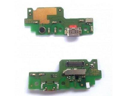 Spodná doska nabíjania Huawei Y6 II - flex nabíjací konektor, mikrofón