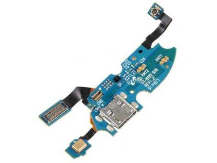 Flex kábel nabíjania Samsung I9195 Galaxy S4 mini - nabíjací konektor, mikrofón