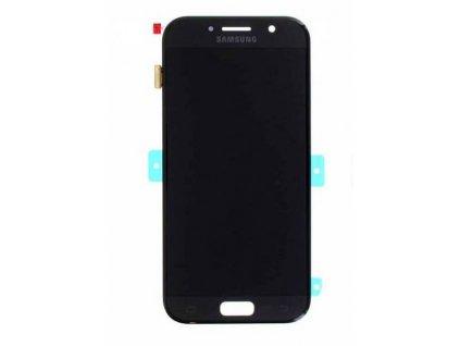 lcd displej samsung A520F Galaxy A5 2017 dotykové sklo modrý