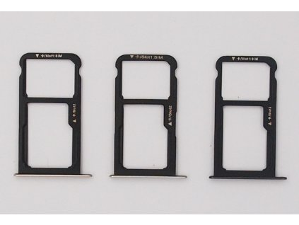 Držiak SIM,SD karty Huawei Honor 8, P9 Lite 2017, P8 Lite 2017 3 farby