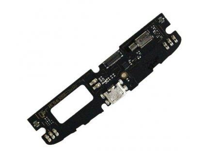 Spodná doska nabíjania Lenovo K4 Note (A7010)- nabíjací konektor, Mikrofón