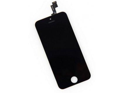 LCD dsiplej Iphone 5C čierny a dotykové sklo