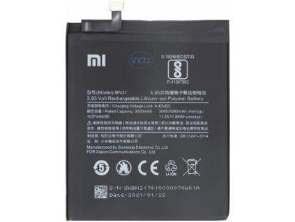 Batéria Xiaomi Mi A1, Redmi S2, Note 5A - BN31
