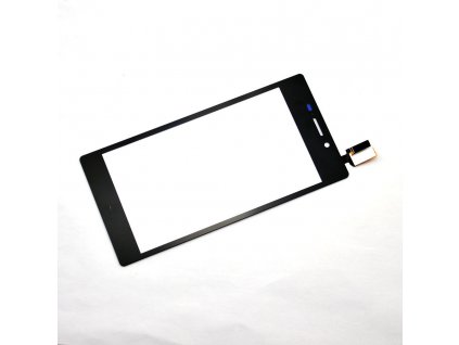 Sony D2303 Xperia M2 - Dotykové sklo čierne