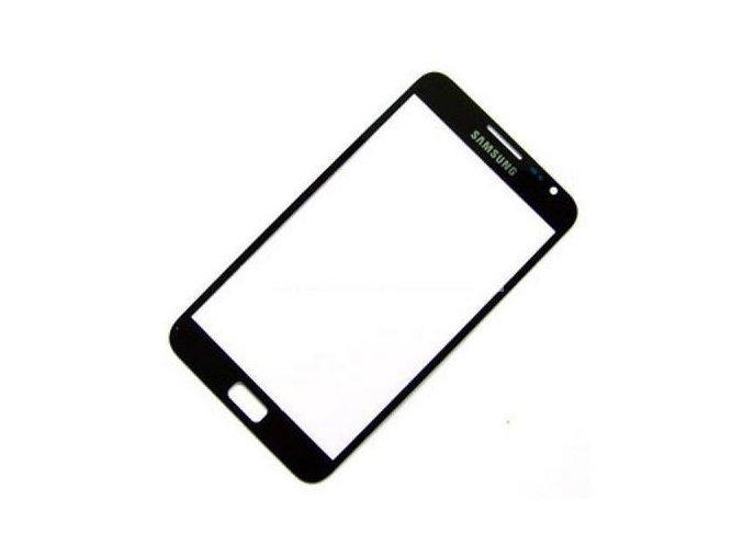 Sklíčko Samsung Galaxy Note I9220,N7000 black + lepka   + lepka zdarma