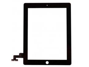 iPad 2 Dotykové sklo čierne