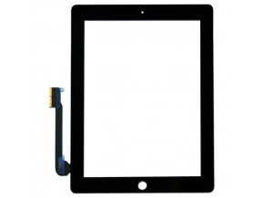 iPad 3, iPad 4 - Dotykove sklo čierny  + 3M lepka zdarma