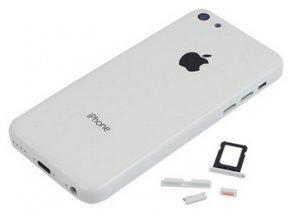 Baterkový kryt iPhone 5C biely
