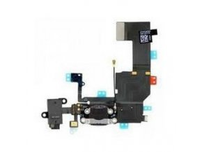 flex kabel iphone 5c audio jack nabijaci black
