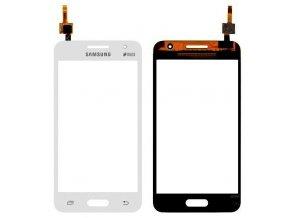 Samsung G355 Galaxy Core 2 Dotykové sklo biele