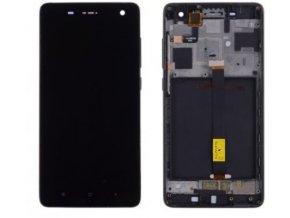 Xiaomi Mi4 - LCD displej a dotykove sklo čierny   + 3M lepka zdarma