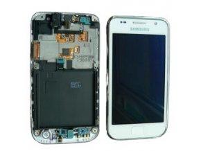 LCD displej Samsung Galaxy S I9000 biely a dotykové sklo s Rámom GH97 11186B