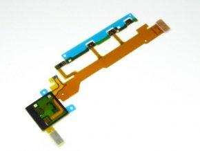 Flex kábel on/off a volume tlačítkami s mikrofónom Sony Xperia Z C6603 ( 1264-0456)