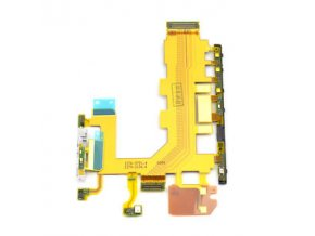 Flex kábel ON/OFF Sony D6503 Xperia Z2 - zapínania, hlasitosti a mikrofón