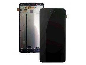 LCD displej Microsoft Lumia 640 XL LTE a dotykove sklo s Rámom