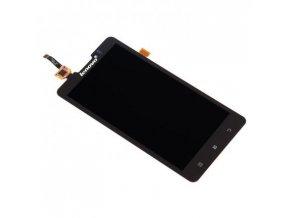 Lenovo P780 - LCD displej a dotykove sklo čierny   + 3M lepka zdarma