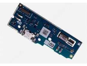 Doska nabíjania Sony Xperia L2 - nabíjací konektor a mikrofón
