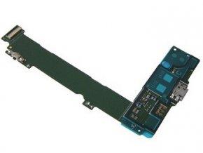 Doska nabíjania Microsoft Lumia 535 - Flex nabíjací konektor, mikrofón