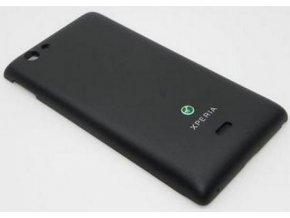 Sony ST23i Xperia Miro Baterkový kryt čierny 1263 0211
