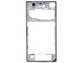 Stredový RÁm pre Sony C6903 Xperia Z1 - Stredový kryt biely