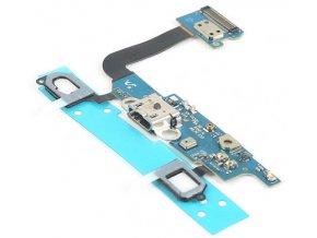 Flex kábel nabíjania Samsung Galaxy Alpha G850F a mikrofón