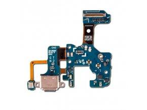 Doska nabíjania Samsung N950 Galaxy Note 8 Nabíjací konektor, mikrofón