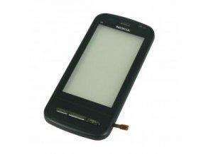 Dotykové sklo Nokia C6-00 black + RÁM