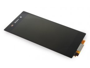 LCD displej Sony Xperia Z2 D6503 čierny a dotykove sklo