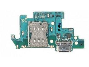 Doska nabíjania Samsung Galaxy A80 - nabíjací konektor, čítač