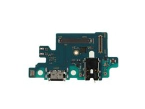 Spodná doska nabíjania Samsung A405F Galaxy A40 - nabíjací konektor, mikrofón