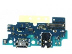 Spodná doska nabíjania Samsung Galaxy A50 - nabíjací konektor, mikrofón