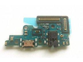 Spodná doska nabíjania Samsung Galaxy A70 - nabíjací konektor, mikrofón