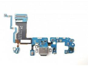 Flex kábel nabíjania Samsung Galaxy S9 Plus - nabíjací konektor, mikrofón