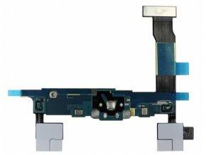 Flex kábel nabíjania Samsung N910F Galaxy Note 4 - nabíjací konektor, mikrofón