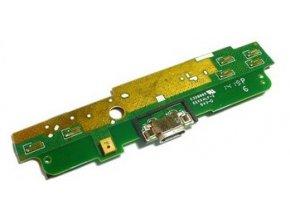 Spodná doska nabíjania Nokia Lumia 1320 - flex nabíjací konektor, mikrofón