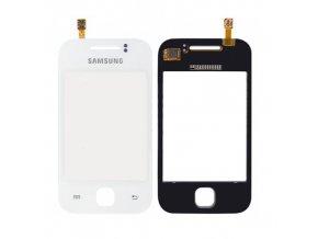 Dotykové sklo Samsung Galaxy Y S5360 white + lepka