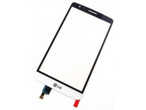 LG D722 Optimus G3s Dotykové sklo biele