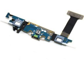 Flex kabel nabijania Samsung G925F Galaxy S6 Edge - nabíjací konekor, mikrofón
