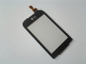 LG P690 Optimus NET - Dotykové sklo čierny  + 3M lepka zdarma