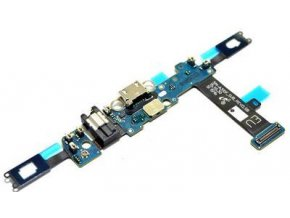 Flex kábel nabíjania Samsung A310F Galaxy A3 2016 - nabíjací konektor a mikrofón